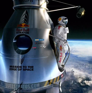 Red Bull Stratos, o activare de brand ce a depasit doua recorduri