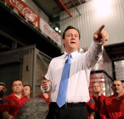 Primul ministru britanic ataca Coca-Cola. Vezi cum i-a raspuns brandul
