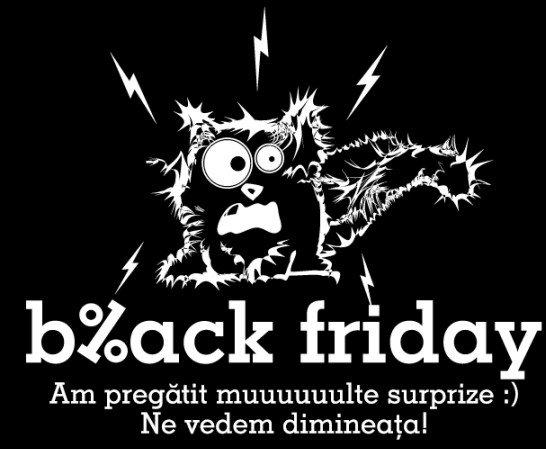Black Friday si online-ul romanesc: Mesaje haioase pentru site-uri nefunctionale