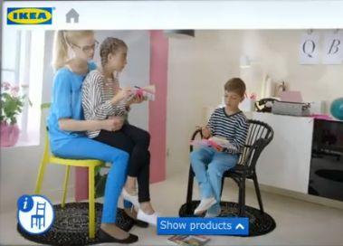 IKEA foloseste realitatea augmentata pentru a-si promova ultimul catalog