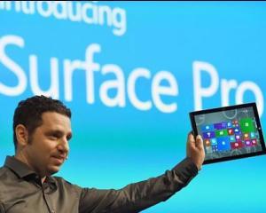 Microsoft a lansat tableta care poate inlocui orice laptop