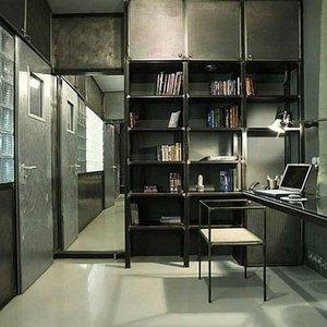 Cum sa-ti decorezi biroul intr-un stil industrial