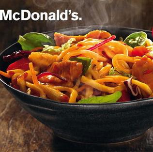 Surpriza McDonald's: Specialitate culinara cu taitei si iz thailandez