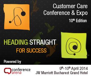 Customer Care Conference, evenimentul anului pentru companiile care investesc in relatiile cu clientii