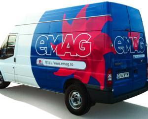 eMAG va comercializa haine, alimente, articole sportive si anvelope
