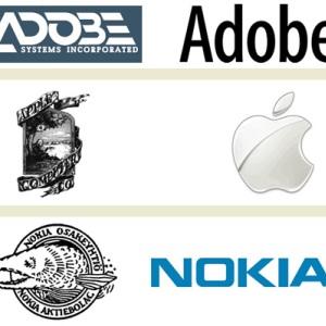Logo vechi vs. logo nou: Cum au evoluat logo-urile companiilor celebre