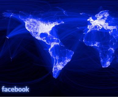 Facebook domina lumea: Cum arata harta social media