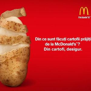 Reclama cu bucluc: McDonald's Romania a fost sanctionata pentru publicitate mincinoasa