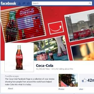 Coca-Cola este cel mai popular brand de retail pe Facebook