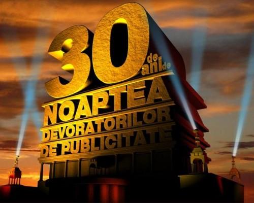 La reclame inainte: Noaptea Devoratorilor de Publicitate 2012 va face turul tarii