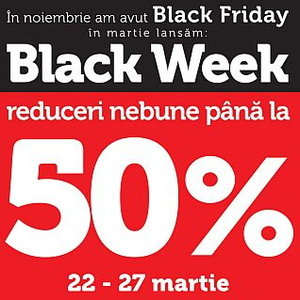 Inedit in marketingul romanesc: Flanco transforma Black Friday in Black Week