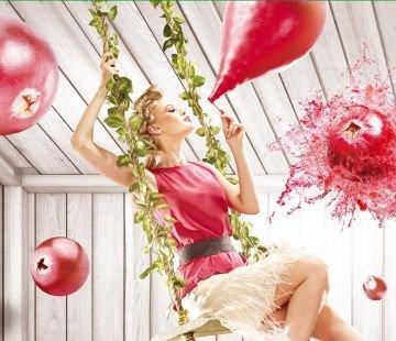 Campania Redd's Cranberry, pata de culoare in cenusiul urban