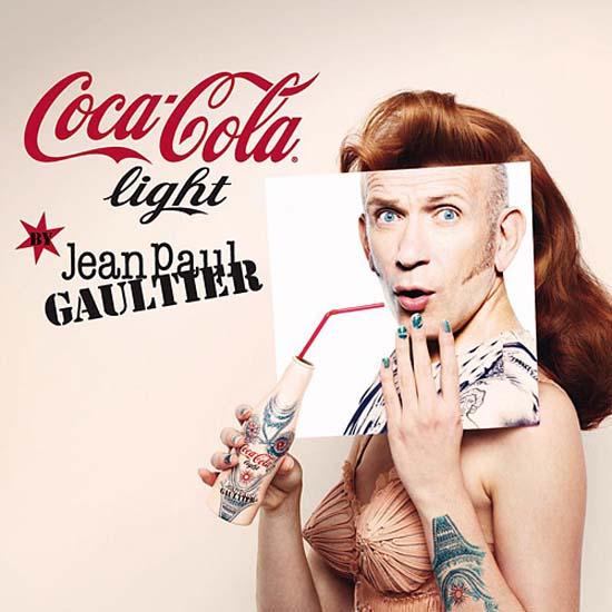 Coca-Cola a lansat o colectie de ambalaje create de designerul vestimentar Jean Paul Gaultier