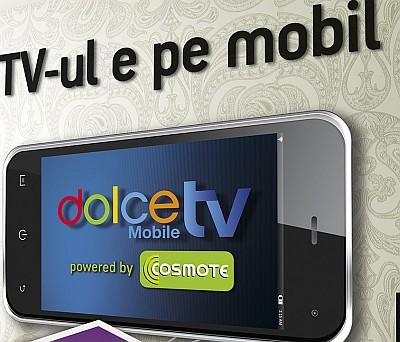 Cosmote si Romtelecom dau lovitura: Aplicatia Dolce Mobile TV este cea mai descarcata din AppStore