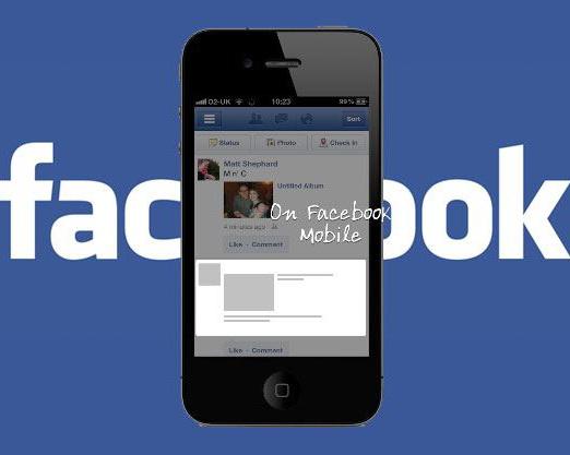 Facebook este al doilea cel mai mare furnizor de publicitate pe mobil din lume