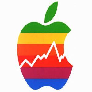 Actiunile Apple au scazut iar pana la un prag istoric