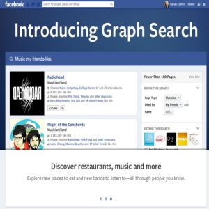 De ce serviciul Graph Search al Facebook ameninta Google