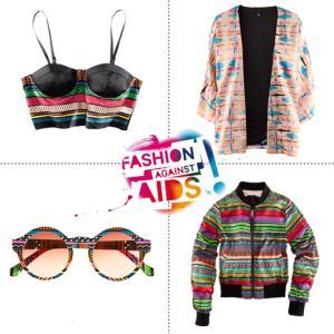 Moda impotriva SIDA si sarutul pentru o cauza marca H&M