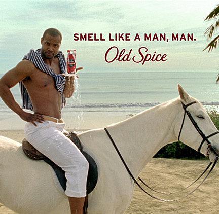 Isaiah Mustafa e din nou pe cal. Dar nu pentru Old Spice