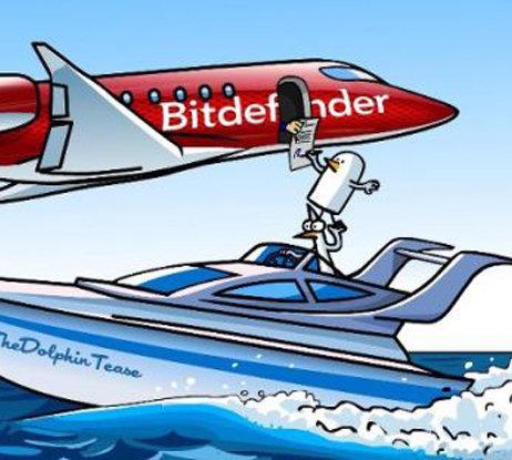 Un altfel de reclama: Bitdefender se promoveaza cu ajutorul benzilor desenate