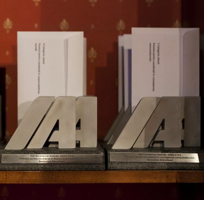 IAA a premiat excelenta romaneasca in marketing si comunicare