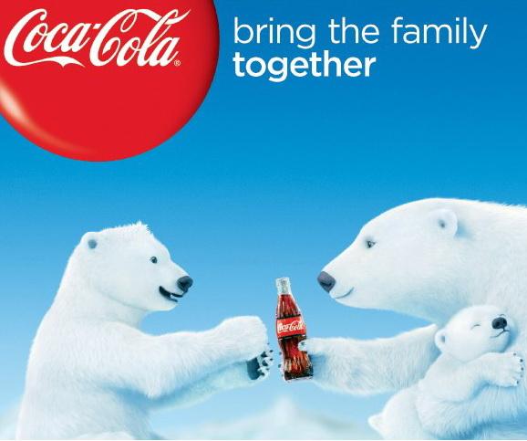 Ursii polari Coca-Cola devin vedete de film