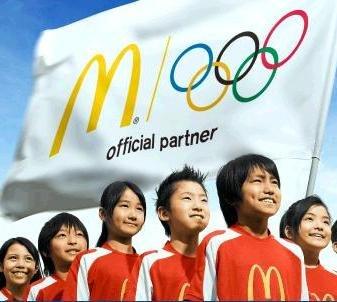 McDonalds se pregateste pentru Olimpiada