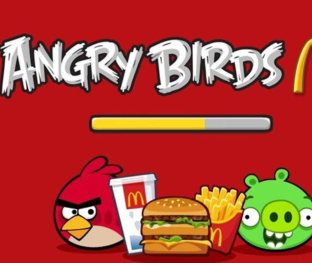 McDonald's lanseaza Angry Birds in China