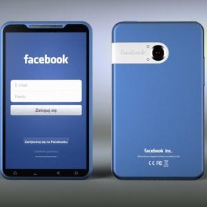 Oare cum va arata noul smartphone Facebook?