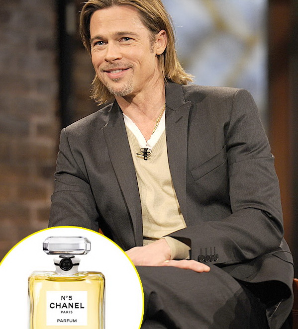 Brad Pitt, primul barbat care va promova parfumul Chanel No.5