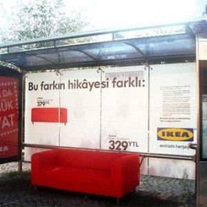 Publicitate creativa de la IKEA