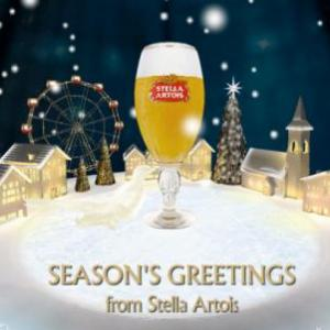 Stella Artois s-a gatit pentru Craciun