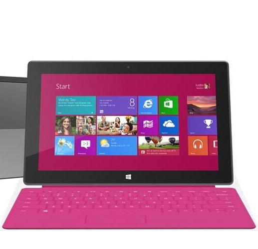 Microsoft a devenit roz. Foarte roz
