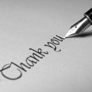 Sfaturi privind redactarea unei scrisori de multumire