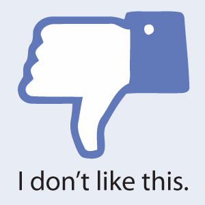 Facebook, in declin?