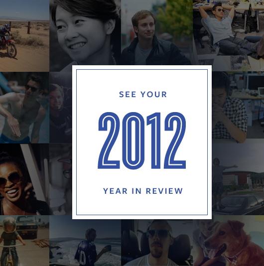Retrospectiva anului 2012 pe Facebook