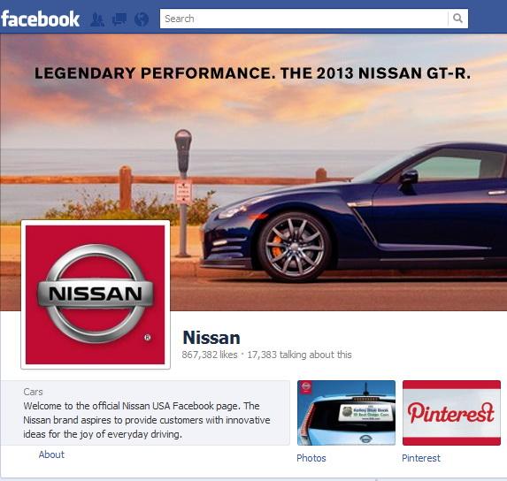 Nissan da iama pe Facebook: Compania va lansa pe retea 5 noi modele de masini