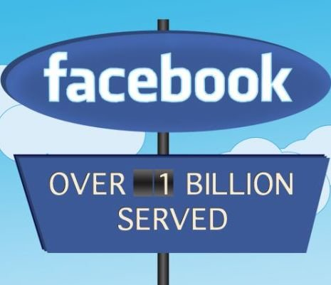 Facebook are 1 miliard de utilizatori si o prima reclama