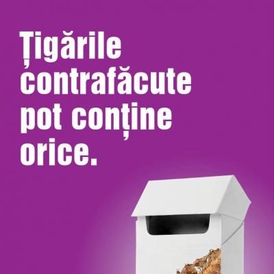 Tigarile contrafacute pot contine orice, noua campanie a British American Tobacco