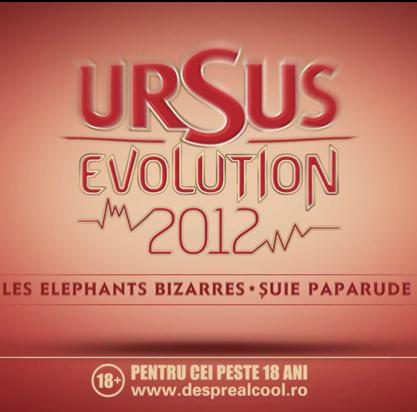 URSUS Evolution 2012: Incepe nebunia muzicii live romanesti