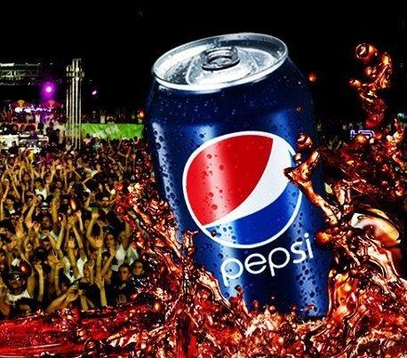 Cum s-a promovat Pepsi la Liberty Parade 2012