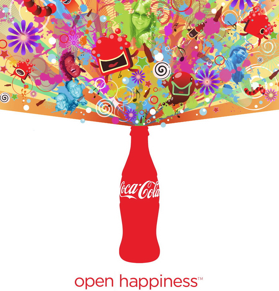 Coca-Cola, in cautarea fericirii
