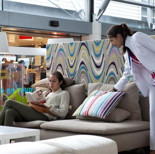 Ikea aduce confortul de acasa in aeroport