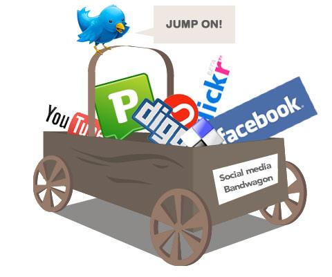Utilizarea social media de catre companii: Unde, care, cat