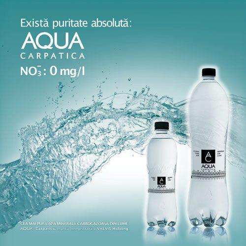 Controversa nitratilor din reclame: CNA versus AQUA Carpatica