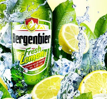 Lamaia in bere este placere: Bergenbier relanseaza Fresh Lemon