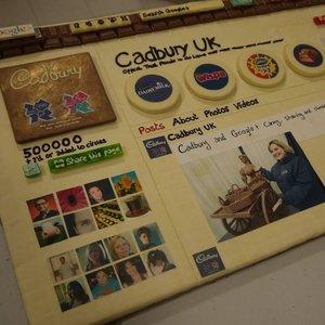 Socializare dulce: Cadbury si-a turnat in ciocolata pagina de Google+