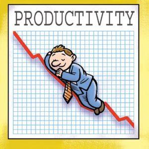 Iti sabotezi productivitatea daca...