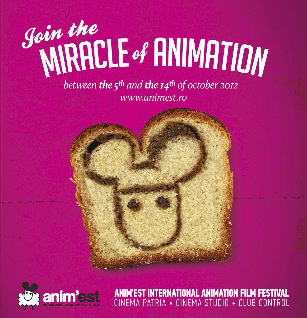Ogilvy produce un nou miracol pentru festivalul de film Anim'Est