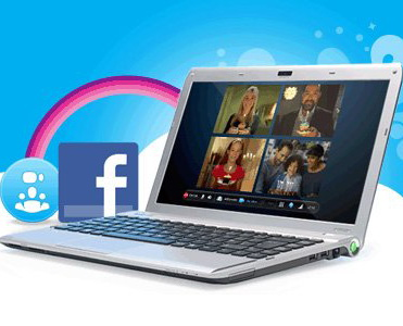 Skype integreaza Facebook si Microsoft